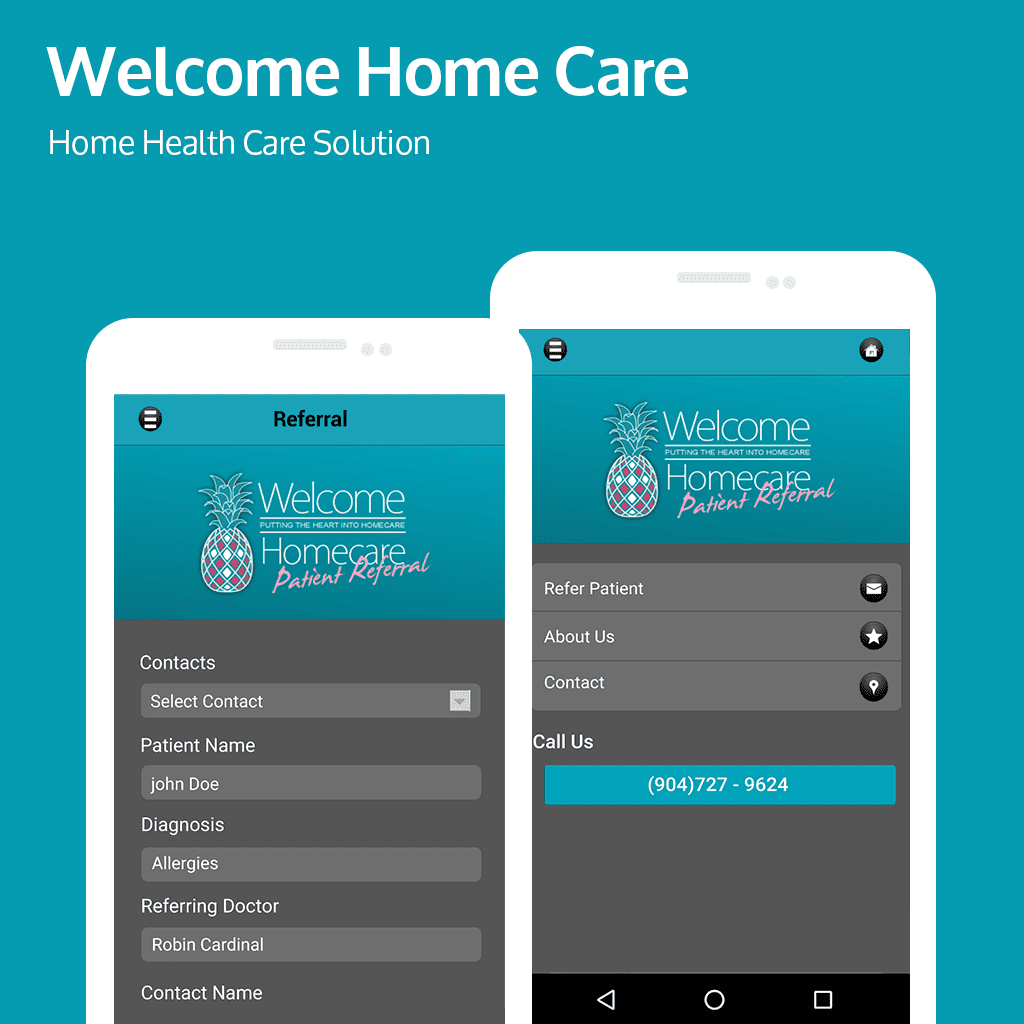 mobile app and healthcare sector