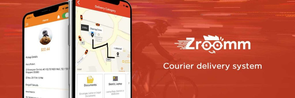 On-Demand Courier Delivery Services.